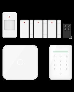 ELRO AS90S Home+ Slim Draadloos Alarmsysteem – Wifi – GSM Functie – Als Beste Getest (AS90S)
