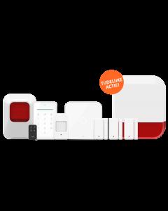 ELRO AS90S Home+ Slim Draadloos Alarmsysteem – Met extra binnensirene en buitensirene (AS90S-Actieset)