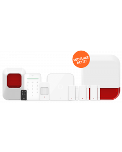 ELRO AS90S Home+ Slim Draadloos Alarmsysteem – Wifi – GSM Functie – Sirene´s - ACTIESET