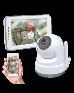 Baby Monitor Royale HD Babyfoon met 12,7 cm touchscreen en app (BC3000)