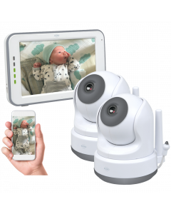 Baby Monitor Royale HD Babyphone with 12,7 cm touchscreen and app (BC3000-2)