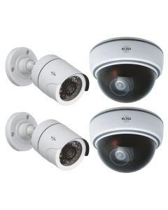 ELRO Dummy Camera Package Deal 2X CDB22 + 2X CDD15F (CD2215)