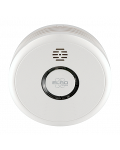 ELRO Pro Design smoke detector with automatic self-test and 10-year battery life (PS4910)