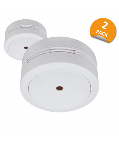 Smoke Detector Compact Design with 10 year battery - 2-Pack (FS7810)