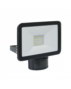 Design LED Outdoors Lamp with Motion Detector 10W - Black (LF5010P)