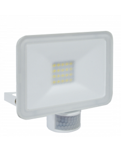 Design LED Buitenlamp met Bewegingsmelder 20W - Wit (LF5020P)
