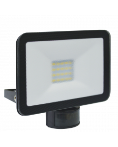 Design LED Outdoors Lamp with Motion Detector 20W - Black (LF5020P)