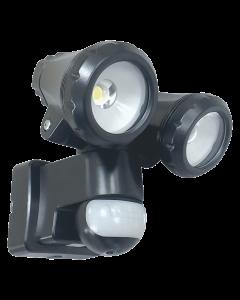 2-Kops LED Buitenlamp met Bewegingsmelder 2 x10W (LT3510P)