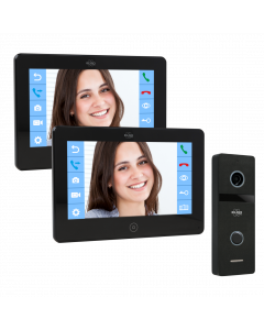 ELRO PRO PV40 Full HD Video Deur Intercom Systeem met extra monitor (PV40)