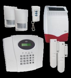 ELRO Pro Alarmsysteem – Met telefoonkiezer en GRATIS Solar Buitensirene (AP5500+SRB)
