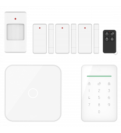 ELRO AS90S Home+ Smart Wireless Alarm System - Wifi - GSM Function - Best Tested (AS90S)