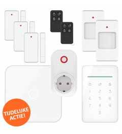 ELRO AS90S Home+ Smart Wireless Alarm System - Wifi - GSM Function - Promotion kit (AS90S)