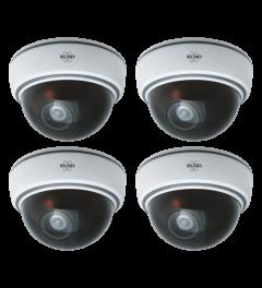 Indoor Dummy Dome Camera met Flash Light - 4 Pack (CDD15F)