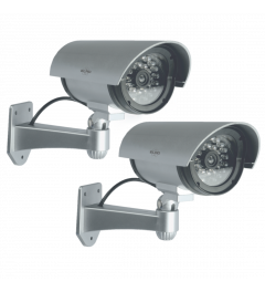 Outdoor Dummy Camera met leds – 2 pack (CDB25S-2)