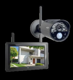 """Draadloze HD Beveiligingscamera Set met 7"""" scherm en app (CZ30RIPS)"""