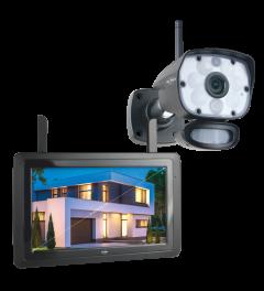 "Color Night Vision Beveiligingscamera Set met 9"" scherm en App (CZ60RIP)"