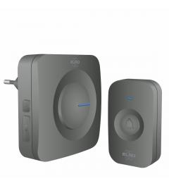 Draadloze Deurbel Set – Plug-in Ontvanger - Zwart (DB3000PL-P1C1B)