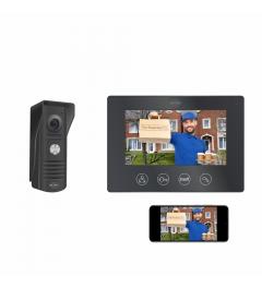 "IP Wifi Deurintercom met 7"" monitor (DV50)"