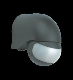 Bewegingsmelder– Geschikt voor Buiten- 200° - Zwart (refurbished)