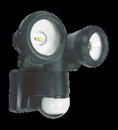 2-Kops LED Buitenlamp met Bewegingsmelder - 2 x 5 Watt (refurbished)