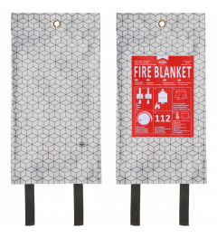Fire Blanket 1.20m x 1.20m – Design Industrial Cubes (FB1500)