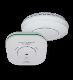 ELRO Connects Combi pakket - Koppelbare koolmonoxidemelder en rookmelder (FF5048R)