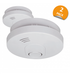 Smoke Detector with 10 year battery - 2 Pack (FS1510M)