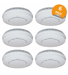 Wireless Connected Smoke detector  - 6 Pack (FZ5002R)