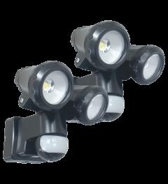 2-Kops LED Buitenlamp met Bewegingsmelder 2 x10W (2-pack) (LT3510P)