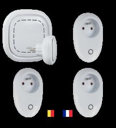 ELRO Connects K1 Franse Plug-in Schakelaar Kit (SF400PF)