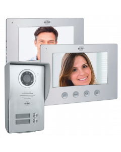 Bedraad Color Night Vision Deur Intercom Systeem met Video – Twee Monitors (DV477W2)