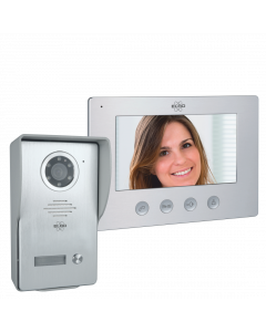 Bedraad Color Night Vision Deur Intercom Systeem met Video (DV477W)