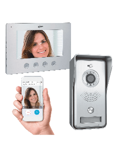 Bedraad Color Night Vision Deur Intercom Systeem met Applicatie (DV447WIP)