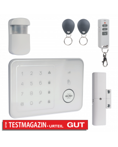 Complete ELRO Home Alarm System - With GSM module and app (AG4000)