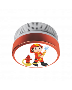 Children Smoke Detector Fireman with 10-year battery (FS8110)