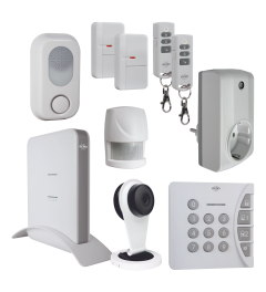 Smart Home Alarm System - Aktions-Set (AS8000-9)