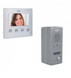 Bedraad Deur Intercom Systeem met Video (DV424W)