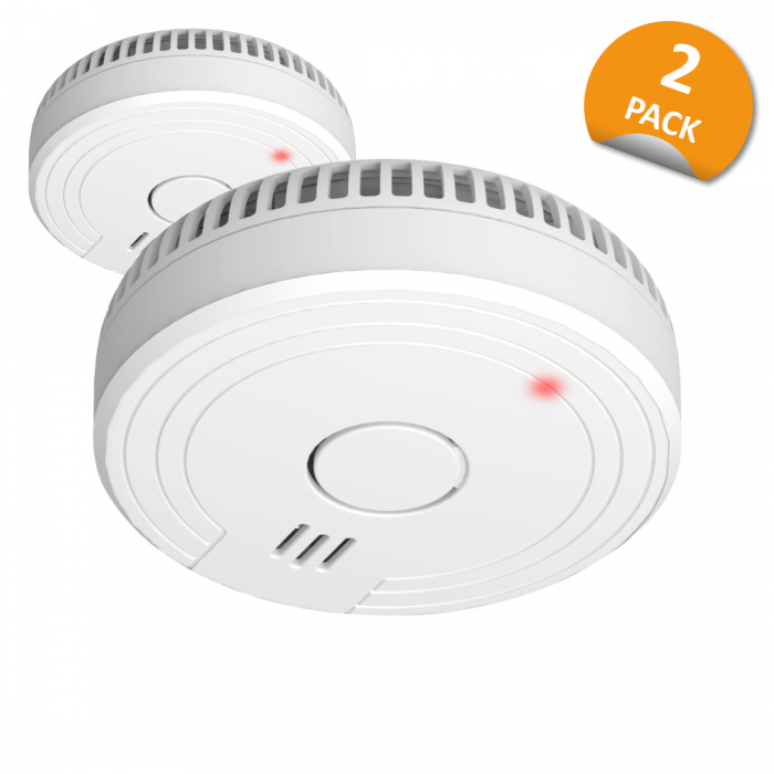 Smoke Detector with Magnet Assembly - 5 Year Battery- 2 Pack (FS1805M)