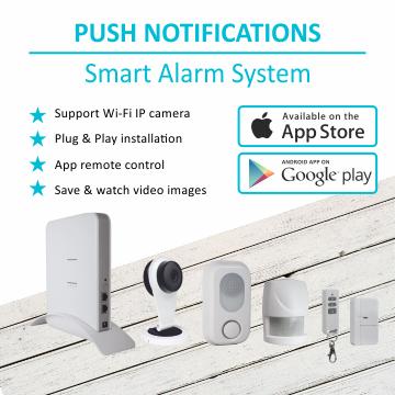 Smart home alarmsysteem
