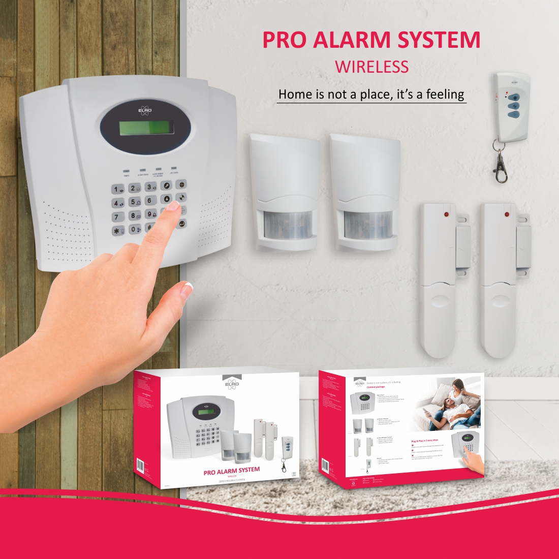 ELRO pro alarmsysteem
