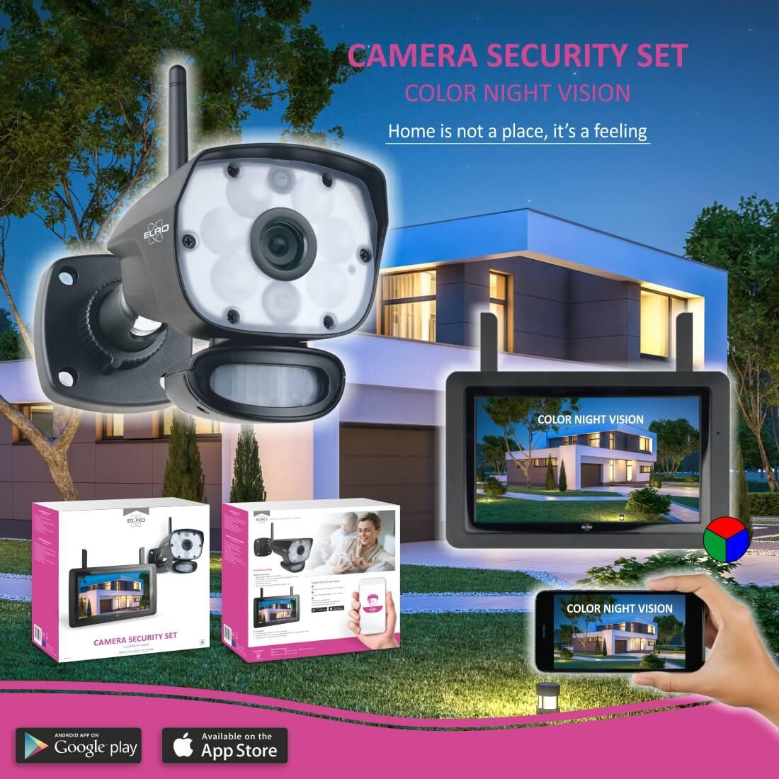 ELRO innovatief camerasysteem