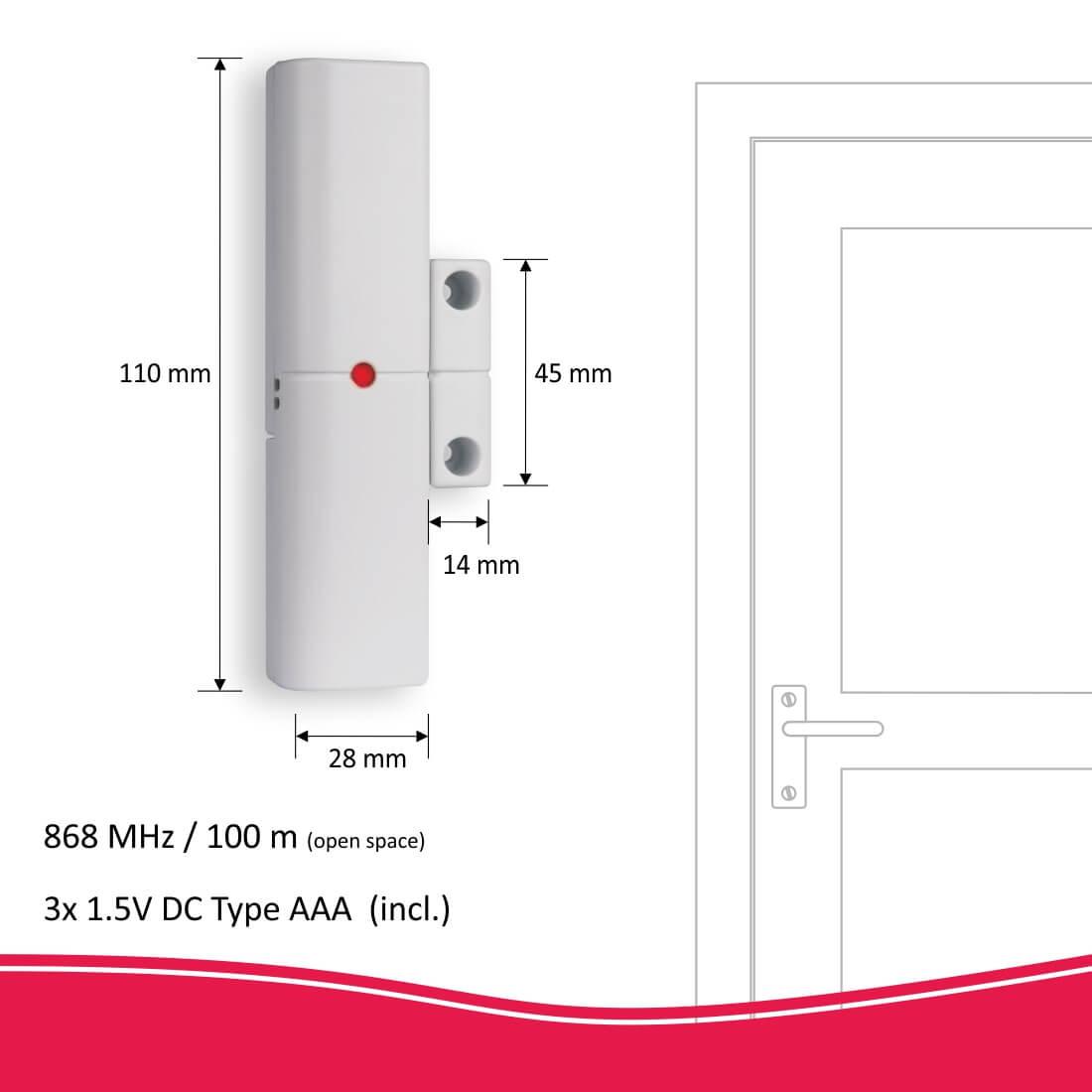 ELRO Thuis deur/raamcontact